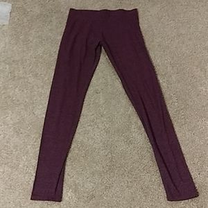 Vanity Essentials Purple Leggings